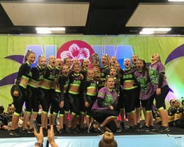 Dreamers Cheer winning in Hawaii 2019