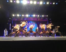 Outkasts dancing at the USASF World Dance Championships 2013