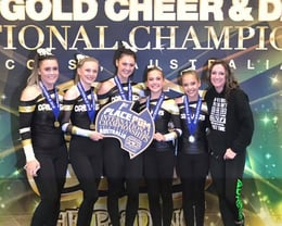 Senior Pom 1st Place at Internationals