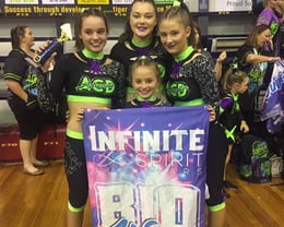 Group stunt champions and bid winners!